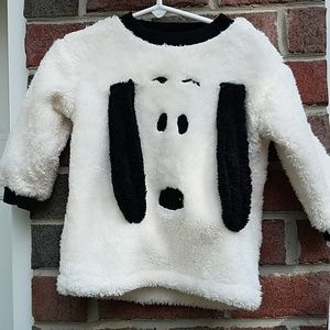 Peanuts Fleecy Snoopy Outfit